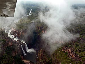 Der Twin Falls - Kakadu-Nationalpark