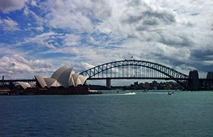 Sydney - Harbour Bridge und Oper