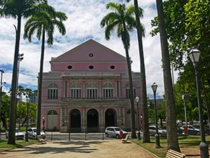 Die alte Oper in Recife